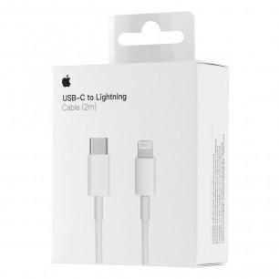 Кабель Apple USB-C to Lightning для iPhone, iPad, 2m, MKQ42ZM/A, Original PRC