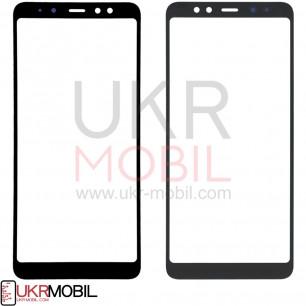 Стекло дисплея Samsung A730 Galaxy A8 Plus 2018, Black