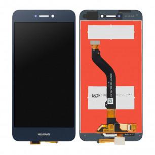 Дисплей Huawei GR3 2017, Honor 8 Lite, Nova Lite 2016, P8 Lite 2017 (PRA-LA1, PRA-LX2, PRA-LX1, PRA-L21, PRA-L11, PRA-LX3), с тачскрином,  Blue