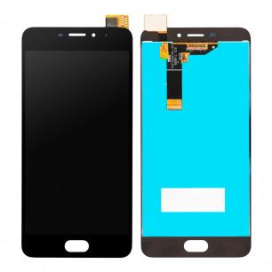 Дисплей Meizu M6 M711H, с тачскрином, High Copy, Black