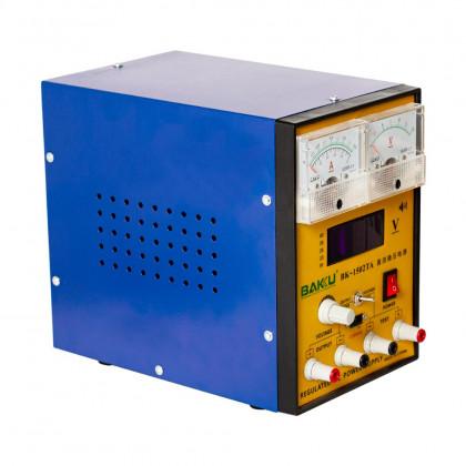 Блок питания Baku 1502TA (2A, 0V-15V, цифровая и аналоговая индикация), фото № 3 - ukr-mobil.com