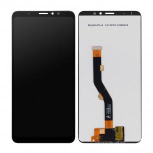 Дисплей Meizu M8 Note, Note 8 M822H, M822Q, с тачскрином, High Copy, Black
