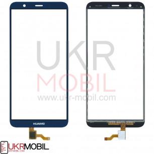 Сенсор (тачскрин) Huawei P Smart (FIG-LX1), P Smart Dual SIM (FIG-L21, FIG-L23), Enjoy 7s, High Copy, Blue