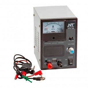 Блок питания NT 1501D 1A 0-15V (аналогово-цифровой, питание от кроны)
