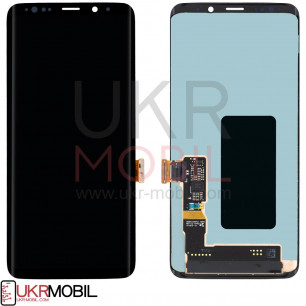 Дисплей Samsung G965 Galaxy S9 Plus, с тачскрином, Original PRC, Black