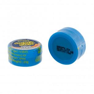 Паста BGA для накатывания шаров Mechanic V3B45, температура плавления: 138°C, (20g)