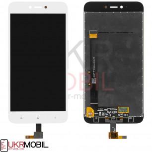 Дисплей Xiaomi Redmi Note 5A, с тачскрином, White