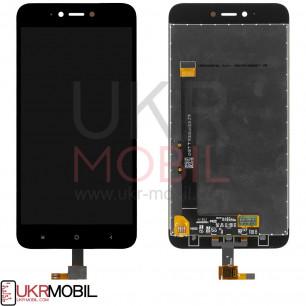 Дисплей Xiaomi Redmi Note 5A, с тачскрином, Black