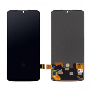 Дисплей Motorola XT1980-4 Moto Z4, с тачскрином, Original PRC, Black