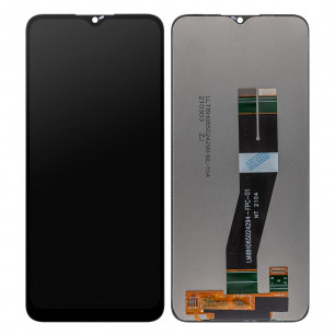 Дисплей Samsung A025 Galaxy A02s, M025 Galaxy M02s, с тачскрином, High Copy, Black