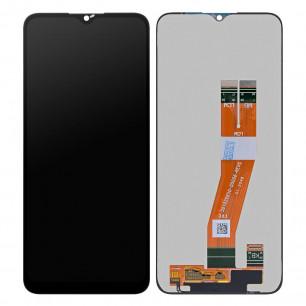 Дисплей Samsung A025 Galaxy A02s, M025 Galaxy M02s, с тачскрином, Original PRC, Black