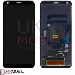 Дисплей LG Q610 Q7 Plus, с тачскрином, Original PRC, Black
