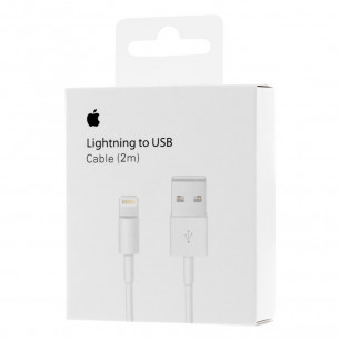 Кабель Apple Lightning to USB для iPhone, iPad, 2m, MD819ZM/A, Original PRC