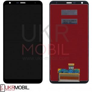 Дисплей LG Q710 Q Stylus+, с тачскрином, Black