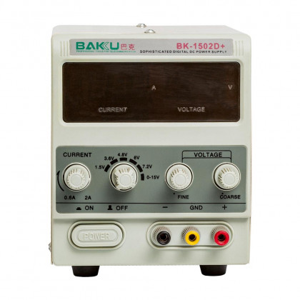 Блок питания Baku 1502D+ RF 2A, фото № 1 - ukr-mobil.com