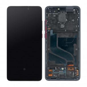 Дисплей Xiaomi Mi 9T, Mi 9T Pro, Redmi K20, Redmi K20 Pro, с тачскрином, с рамкой, OLED, Black
