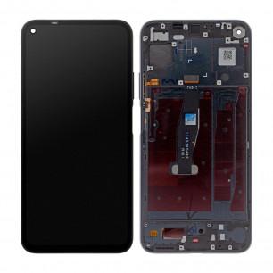Дисплей Huawei Honor 20 (YAL-L21), Nova 5T, с тачскрином, с рамкой, Original PRC, Black