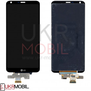 Дисплей LG G6 H870, G6 H870K, G6 H871, G6 H872, G6 H873, G6 LS993, G6 US997, G6 VS998, с тачскрином, Black