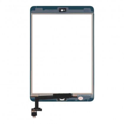 Сенсор (тачскрин) Apple iPad mini, (A1432, A1454, A1455), iPad Mini 2 Retina (A1489, A1490, A1491), с кнопкой Home, High Copy, White, фото № 2 - ukr-mobil.com