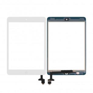 Сенсор (тачскрин) Apple iPad mini, (A1432, A1454, A1455), iPad Mini 2 Retina (A1489, A1490, A1491), с кнопкой Home, High Copy, White