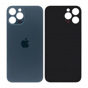 Задняя крышка Apple iPhone 12 Pro Max, большой вырез под камеру, Blue