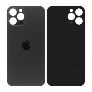 Задняя крышка Apple iPhone 12 Pro Max, большой вырез под камеру, Graphite
