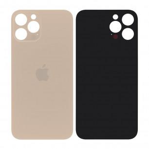 Задняя крышка Apple iPhone 12 Pro Max, большой вырез под камеру, Gold