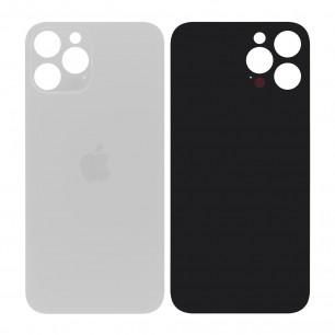 Задняя крышка Apple iPhone 12 Pro Max, большой вырез под камеру, White