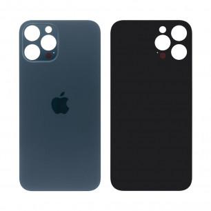 Задняя крышка Apple iPhone 12 Pro, большой вырез под камеру, Blue