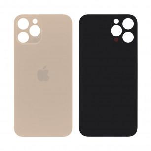 Задняя крышка Apple iPhone 12 Pro, большой вырез под камеру, Gold