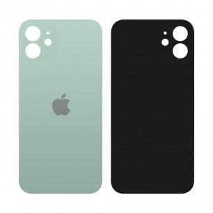 Задняя крышка Apple iPhone 12, большой вырез под камеру, Green
