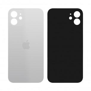 Задняя крышка Apple iPhone 12, большой вырез под камеру, White