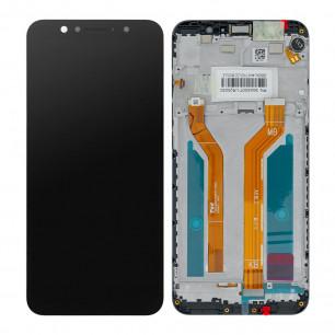 Дисплей Asus ZenFone Max Pro ZB601KL, ZenFone Max Pro M1 ZB602KL (X00TD), с тачскрином, с рамкой, Original PRC, Black