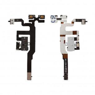 Шлейф Apple iPhone 4S на наушники, White