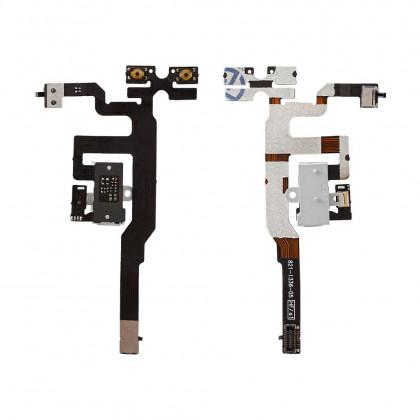 Шлейф Apple iPhone 4S на наушники, White - ukr-mobil.com
