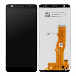 Дисплей ZTE Blade A3 2020, с тачскрином, Original PRC, Black