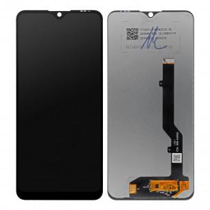 Дисплей ZTE Blade 20 Smart V1050, с тачскрином, Original PRC, Black