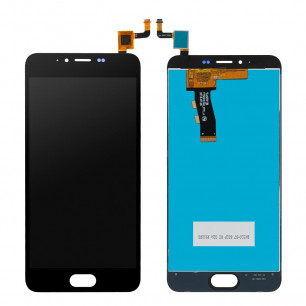 Дисплей Meizu M5 M611H, M5 mini, с тачскрином, High Copy, Black