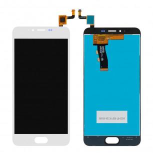 Дисплей Meizu M5 M611H, M5 mini, с тачскрином, High Copy, White