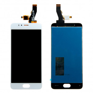 Дисплей Meizu M5s M612H, Meizu M5s mini, с тачскрином, High Copy, White