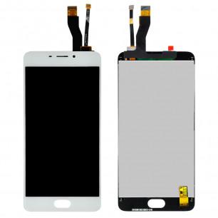 Дисплей Meizu M5 Note M621, с тачскрином, High Copy, White