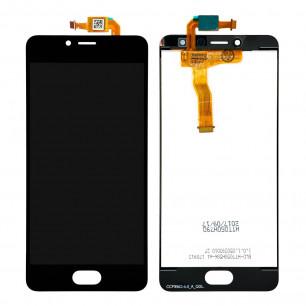 Дисплей Meizu M5c M710, с тачскрином, High Copy, Black