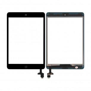 Сенсор (тачскрин) Apple iPad mini, (A1432, A1454, A1455), iPad Mini 2 Retina (A1489, A1490, A1491), с кнопкой Home, High Copy, Black