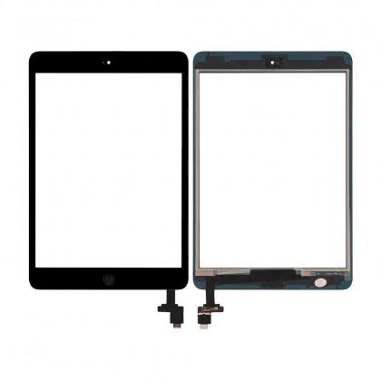 Сенсор (тачскрин) Apple iPad mini, (A1432, A1454, A1455), iPad Mini 2 Retina (A1489, A1490, A1491), с кнопкой Home, High Copy, Black - ukr-mobil.com