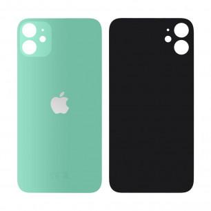 Задняя крышка Apple iPhone 11, большой вырез под камеру, Green