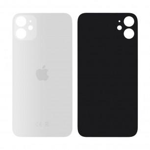 Задняя крышка Apple iPhone 11, большой вырез под камеру, White