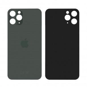 Задняя крышка Apple iPhone 11 Pro, большой вырез под камеру, Midnight Green