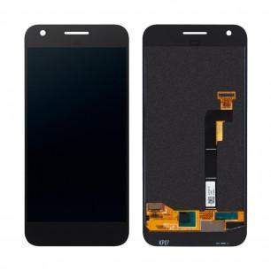 Дисплей Google Pixel, с тачскрином, Original, Black