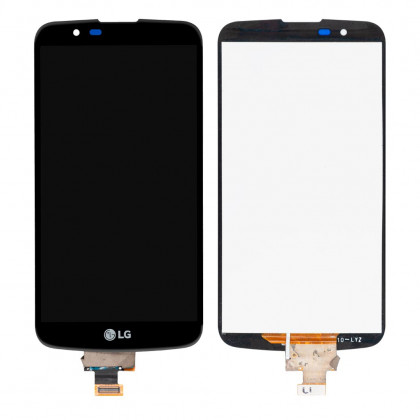 Дисплей LG K10 K410, K10 K420N, K10 K430DS, K10 K430DSF, K10 K430DSY, с тачскрином, Black - ukr-mobil.com
