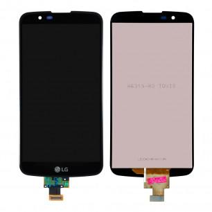 Дисплей LG K10TV K410TV, K10TV K430TV, с тачскрином, Black